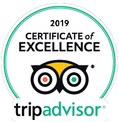 2019 Certificate of Excellence. Trip Advisor